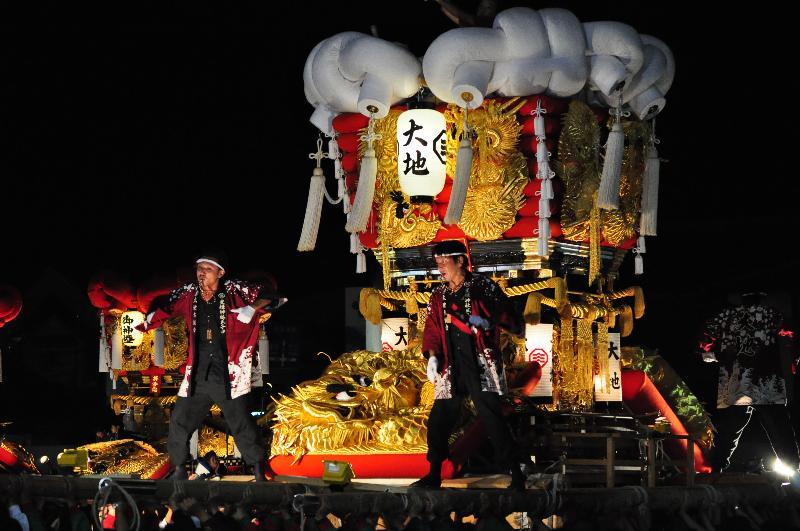 とよなか秋の祭り ゆめタウン三豊 大地太鼓台