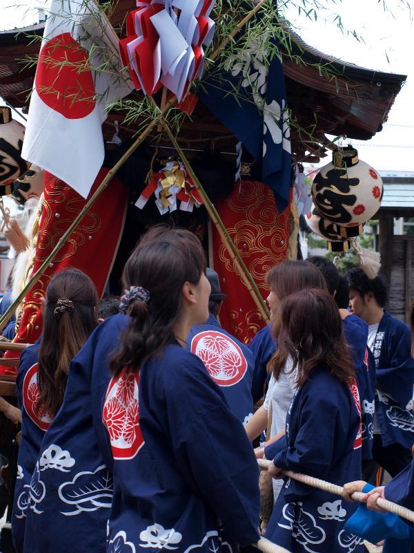 坂出市林田町 総社神社祭礼