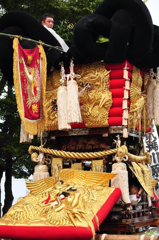 四国中央市 川之江秋祭り