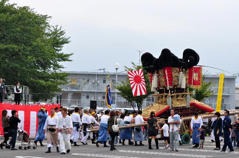 川之江秋祭り JAうま 統一寄せ