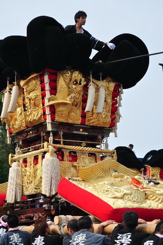 川之江秋祭り JAうま 上之町太鼓台