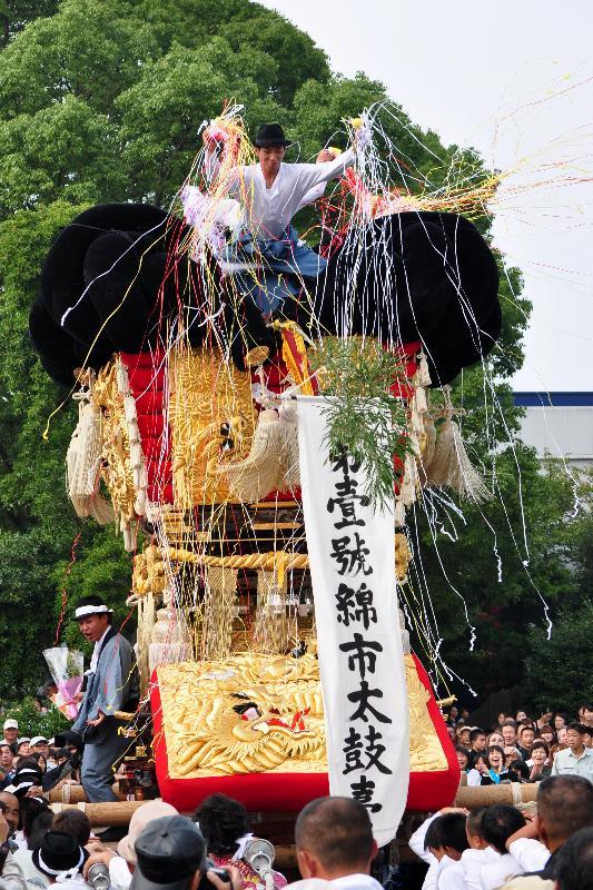 川之江秋祭り JAうま 綿市太鼓台