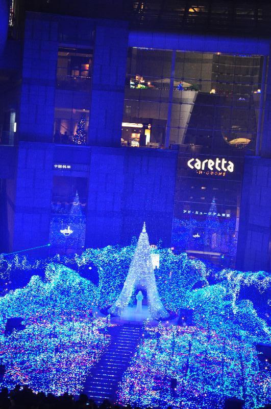 東京 街角の夕景