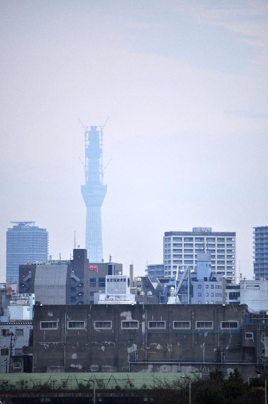 東京都港区海岸 竹芝客船ターミナル 景色
