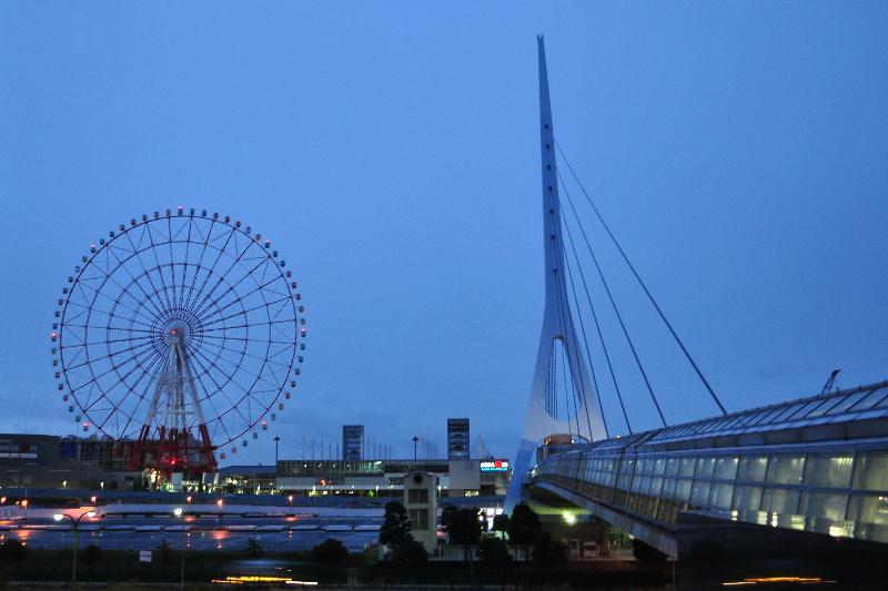 東京テレポート 風景
