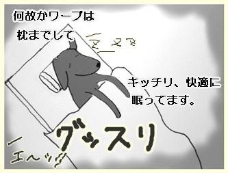 安眠ワーブー4        090801