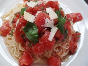 0906トマトの冷製パスタ