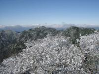 09 大普賢にて山上ヶ岳・竜ヶ岳