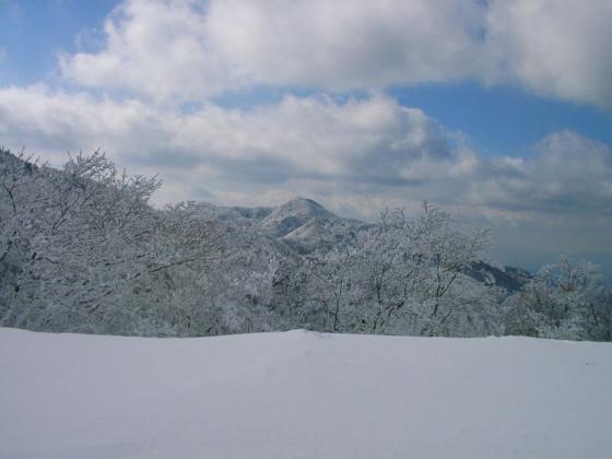 11 明神平から薊岳
