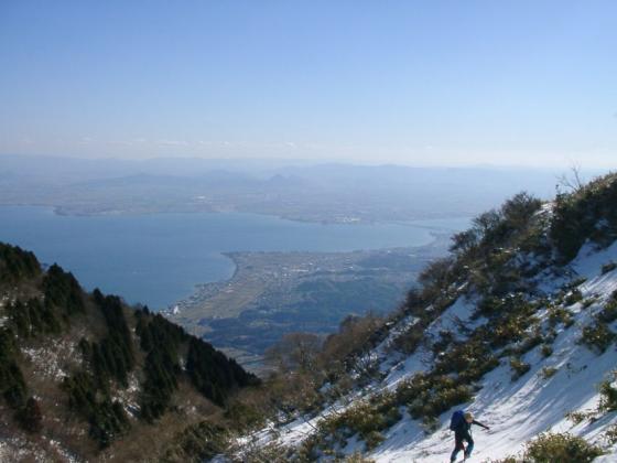 04 小女郎峠から琵琶湖大橋