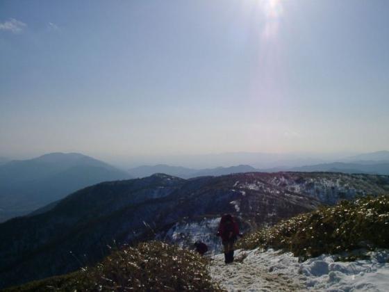 09 蓬莱山最後の登り