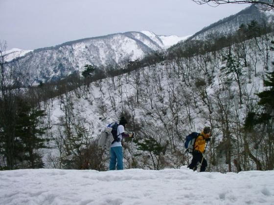 04雪景色の中