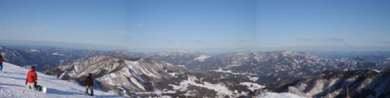 13 鉢伏山頂の眺め