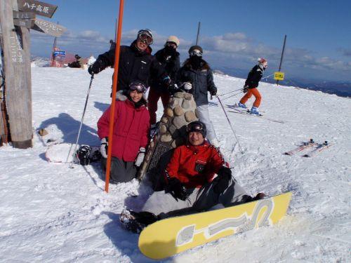 10 鉢伏山山頂にて