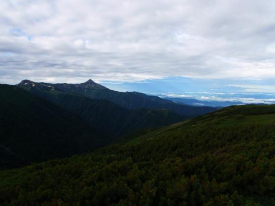 29秀峰笠ヶ岳