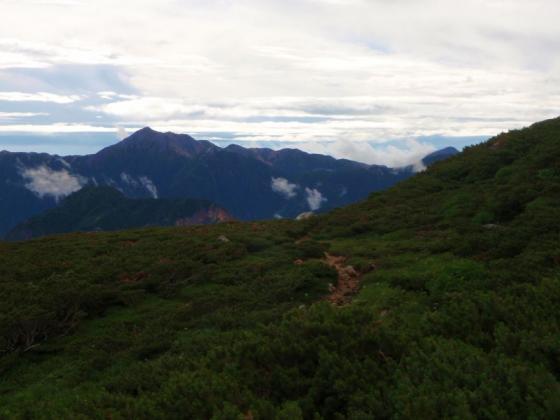 36大天井岳