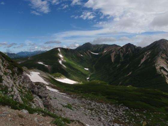 44黒部源流域と水晶岳