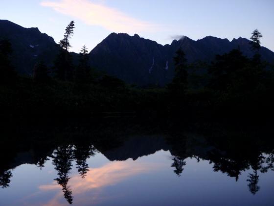 62鏡池の夜明けⅡ