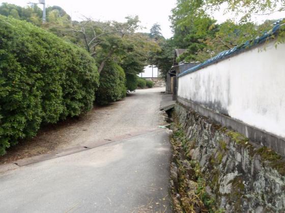 03登山道への道