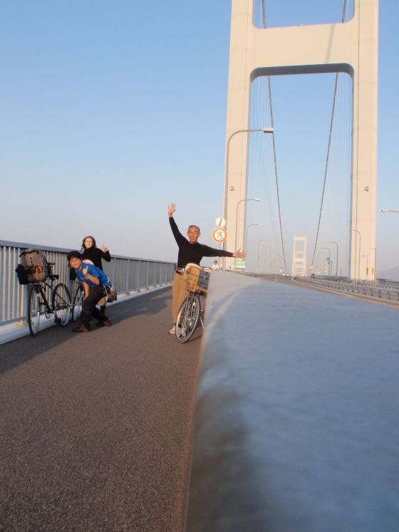 34 橋の終点にて