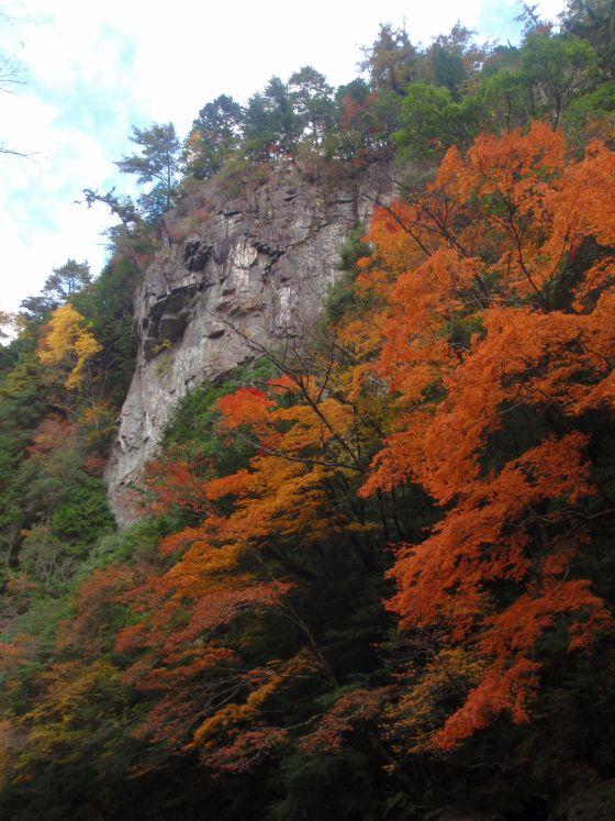 05 笹ノ滝渓谷の紅葉
