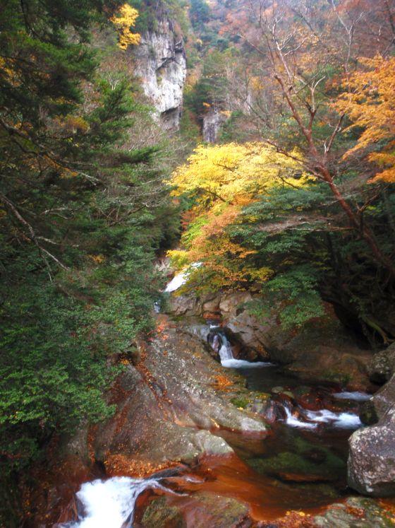 06 笹ノ滝渓谷の紅葉