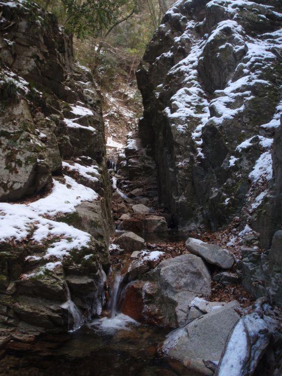 03 百間滝へ途中