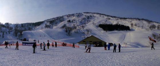 03 スキー場に着いて
