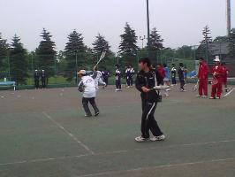 1日目、十勝選手団合同で公開練習