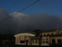 雲がモクモク