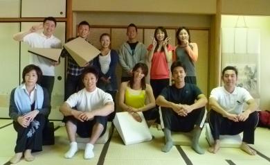 20101218フレックスクッションストレッチ伊藤まどか先生4