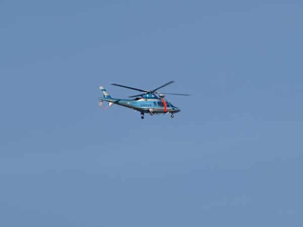ヘリコプターだ~