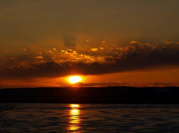 夕陽が眼にしみる~