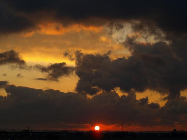 朝の空・雲