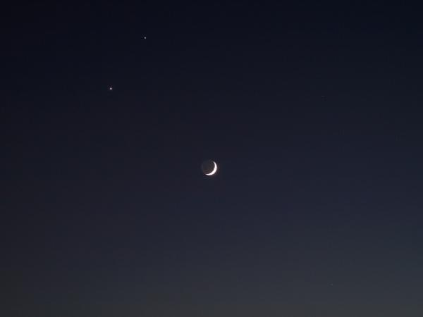 夜空でも快晴というのでしょうか~~??それくらいきっぱりと晴れていました。。