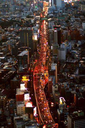 夕暮れの東京0