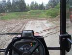 トラクター耕運