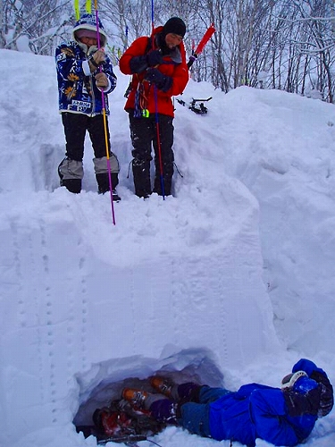 雪崩講習61 090125