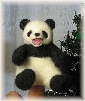 パンダのクリスマスツリー