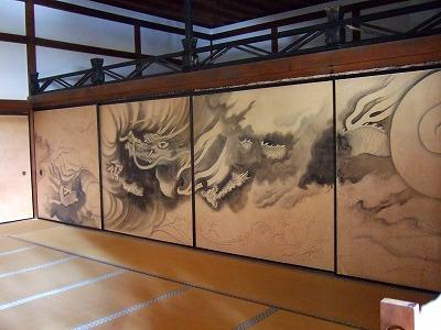 龍安寺の襖絵