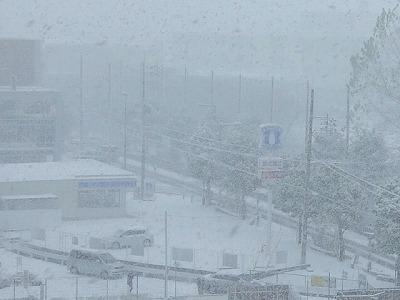 シーズン初雪