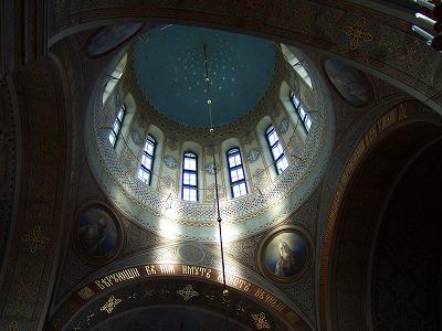 ウスペンスキ寺院内1