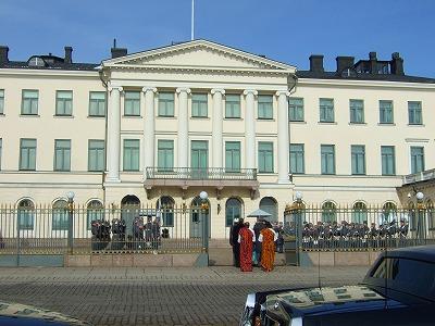 大統領官邸?