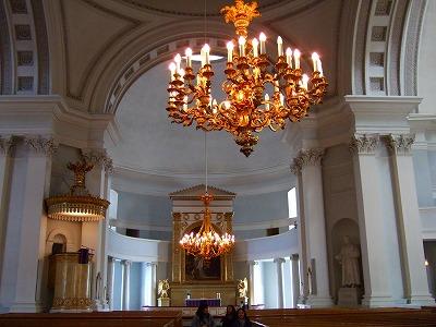ヘルシンキ大聖堂内部1