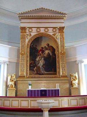ヘルシンキ大聖堂内部3