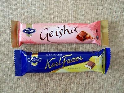 ファッツェルのチョコ