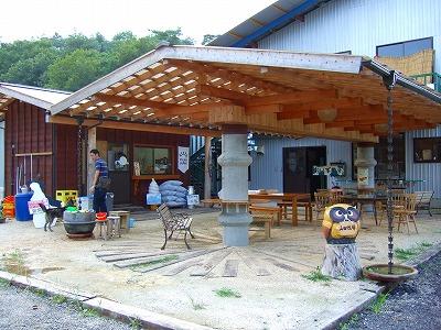 山田牧場の売店