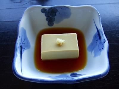 海老味噌豆腐