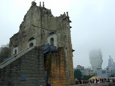 聖ポール天主堂跡 横