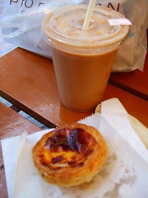 カフェ・エ・ナタのエッグタルト